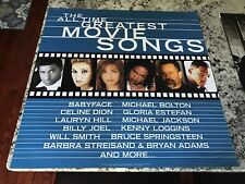 ALL TIME GREATEST MOVIE SONGS PROMO POSTER - Celine Dion,Billy Joel 24X24