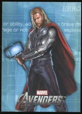 2012 Marvel Avengers Assemble Movie Heroes/Villains Evolve E-17 Thor