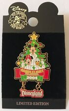 Disney DLR Candlelight Processional 2004 Mickey Minnie & Donald Pin LE 1500