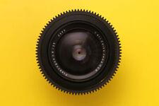 lens Carl Zeiss Jena Flektogon  2.8 / 35mm  PL mount Arri Red URSA Arriflex