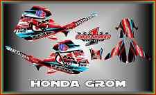 Honda Grom & MSX125  SEMI CUSTOM GRAPHICS KIT SHLEY