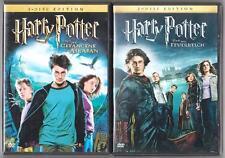 Harry Potter und der Gefangene von Askaban + und der Feuerkelch DVD Filme