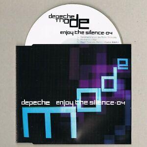 DEPECHE MODE Enjoy The Silence UK CD Promo 3 track mixes MUTE A-HA OMD