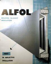 ALFOL ASBESTOS Blanket Insulation BORG-WARNER Catalog REFLECTAL Corporation 1952