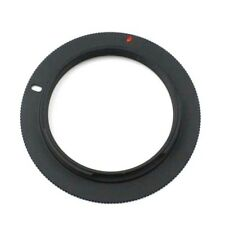 Macro M42 screw lens to Nikon F mount adapter D610 D800 D7100 D5300 D4S DF Black