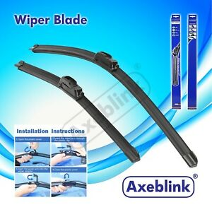 "For Suzuki Swift 2005-2010 Front Windscreen 21"" 18"" Flat Aero Wiper Blades Set"