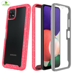 360 Case Full Hybrid Shockproof Phone Cover for Samsung A10 A21S A22 A32 A52 5G