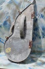 Vintage Dry Wall Banjo Metal Storage Tool Case, RARE! FREE SHIPPING!