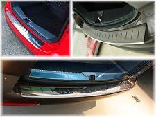 LADEKANTENSCHUTZ EDELSTAHL mit Abkantung  für Toyota Corolla Verso 2003-2009