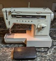 Singer Stylist 534 Vintage Sewing Machine Tested Working