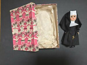 Vintage Ginny Nun Doll with box