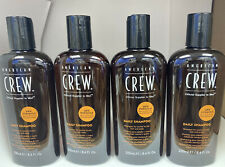AMERICAN CREW DAILY SHAMPOO 8.4oz -- 4 PACK ONLY $3.00 per BOTTLE
