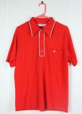 Vintage Munsingwear Grand Slam Polo Shirt L Large Red Houston