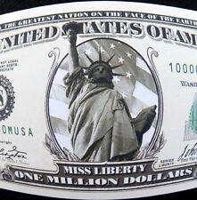 Miss Liberty FREE SHIPPING One-Million-dollar novelty bill