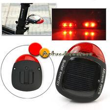 Fanalino Fanale Posteriore Bici Energia Solare 2 LED Rosso 4 Modi Impermeabile