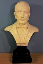 Vintage Plaster Sculpture Bust of G. Puccini