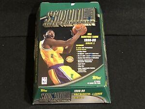 1 NEW FACTORY SEALED 1998 TOPPS STADIUM CLUB SERIES 2 JUMBO BASKETBALL HOBBY BOX