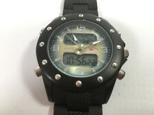 U.S. Polo Assn. Men's Analog-Quartz Watch Rubber Strap US9190 + Digital Display