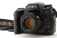 """Exc+5"" Minolta α-9 a-9 Alpha Maxxum Dynax 9 Film Camera w/ AF 50mm F/1.4 D839"