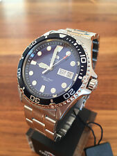 BEST PRICE!!! NEW Orient Ray II 2 blue Automatic Watch Automatik Taucher Uhr