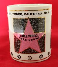 Hollywood California walk of fame coffee mug star