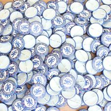 Wholesale Job Lot 200 x 38mm Badges Official Chelsea Football Club Logo (Blue)