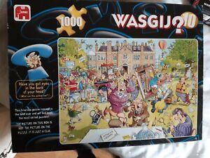 Original Vintage WASGIJ Jigsaw puzzle No.10 ANTIQUES HUNT 1000 pieces Complete