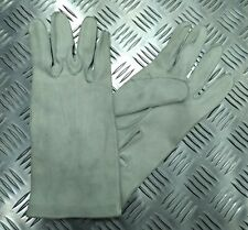 Genuine British Military Ceremonial Deerskin 3 Dart Leather Gloves Shop Soiled