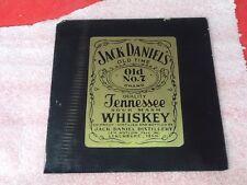Jack Daniels Glass Plates Tiles Plate  10 QTY!