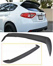 For 08-14 Subaru WRX | STi ABS Rear Roof ADD On Spoiler Lip Wing Extension Kit
