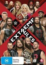WWE: Extreme Rules 2018  - DVD - NEW Region 4 - brand new sealed!