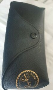 Ray Ban Black Sunglasses Case with tiny mark see photos. marker would hide it