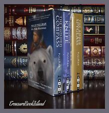 His Dark Materials by Philip Pullman Golden Compass Spyglass New Sealed Box Set
