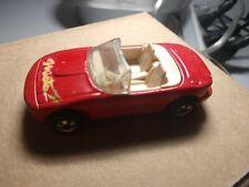 1990 Hot Wheels Red Mazda Miata MX-5 Convertible Sports Car - Malaysia