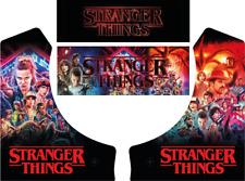 Stranger Things Themed Bartop Arcade Graphics Retro