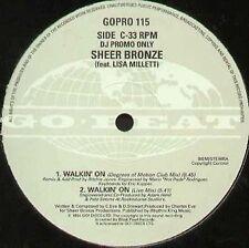 SHEER BRONZE - Walkin' On (Fire Island Mix) - Go! Beat
