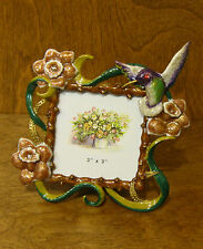"""Welforth Frame #1747 HUMMINGBIRD, NEW from Retail Store 5.5"""" Square, Mint/Box"""