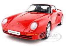 PORSCHE 959 RED 1:18 DIECAST CAR MODEL AUTOART 78082