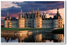 Chateau de Chambord France French Travel Art - NEW European Castle POSTER