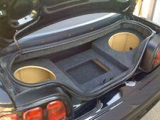 """94-04 Mustang Convertible Custom Sub Box Subwoofer Enclosure & Amp Rack - 2 10"""""""