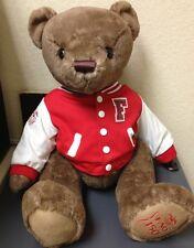 """FAO SCHWARZ Plush FAO Varsity Bear 150th Anniversary 2012 tush tags only 15"""""""