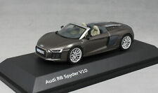Herpa Audi R8 Spyder V10 in Argus Brown 5011618533 1/43 NEW