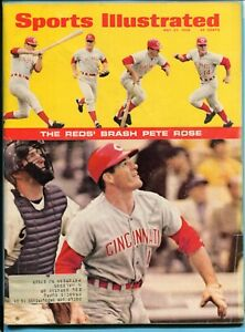 Sports Illustrated May 27, 1968 Pete Rose on Cover Vg/Ex