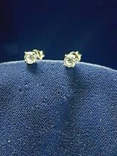 Orecchini Punto Luce Arg.925 Zirconi-Earrings Point Light Silver Cubic Zirconia