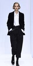 Margaret Howell Rare Black Wool / Linen Blend Suit 14
