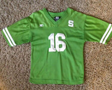 MICHIGAN STATE SPARTANS  # 16  NCAA  FOOTBALL JERSEY  BY  STARTER  YOUTH   5 / 6