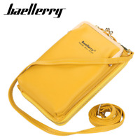 Women Leather Mobile Phone Wallet Crossbody Bag Credit Card ID Holder Purse New