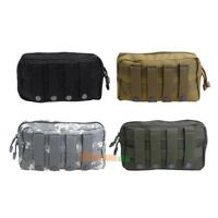 Outdoor 1000D Tactical MOLLE Accessory Pouch EDC Utility Tool Storage Bag