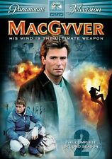 MacGyver: The Complete Second Season [6 Discs] (2005, REGION 1 DVD New)