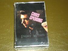 CHRIS SPEDDING<>ENEMY WITHIN<> Sealed Audio Cassette ~  TAPE - ROSK 94